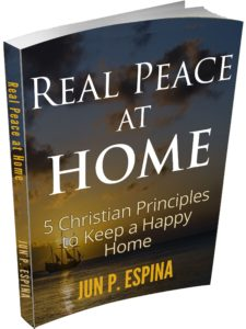 real peace at home FIVE CHRISTIAN PRINCIPLES TO KEEP A HAPPY HOME
